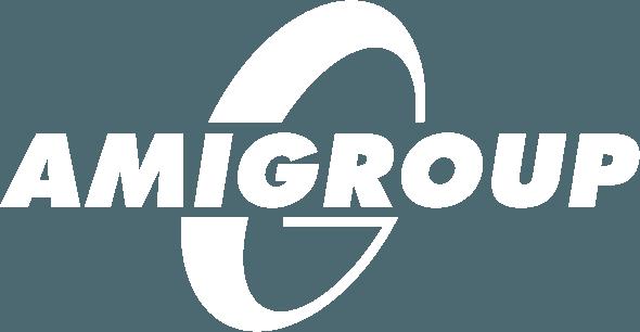 logo amigroup bianco